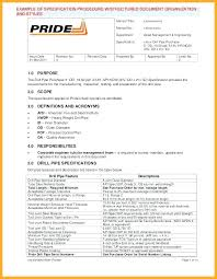 Quality Assurance Plan Example Software Requirements Specification Project Template Business