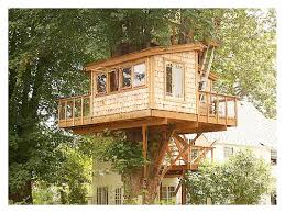 treehouse kits doityourself best simple tree house ideas on diy kids clubhouse and forts for