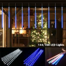 Led Icicle Drip Lights In Motion Details About Meteor Shower Falling Star Rain Drop Icicle Snow 8 Tube Led Xmas Tree Light Usa