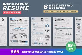 Infographic Resume Template Venngage Throughout Floating Cityorg