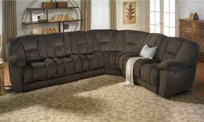 Angelica Duel Reclining Memory Foam Sectional Sofa