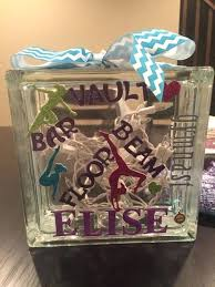 glass blocks crafts ideas gymnast glass block diy glass block craft projects