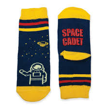Spaced Online Happy Feet Baby Socks Spaced Out