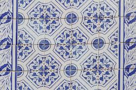 Blue And White Decorative Tiles Traditional ornate portuguese decorative tiles in blue and white 18