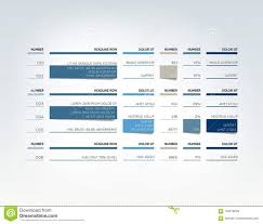 Schedule Table Template Table Schedule Tab Planner Infographic Design Template Stock