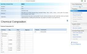 Total Materia Aluminum Grades