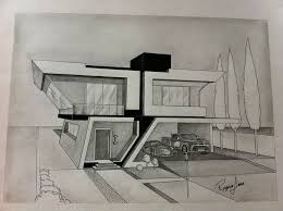 cool architecture drawing. Cool Architecture Design Drawings Drawing T