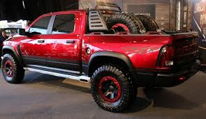 2018 Dodge Ram Rebel TRX  Rear  2017  SUV And Truck Models
