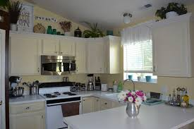 Decor Over Kitchen Cabinets Decor For Kitchen Cabinets Miserv