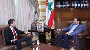 """Saad Hariri auf Twitter: """"استقبال رئيس حركة شباب #لبنان إيلي صليبا، وعرض  الأوضاع العامة.… """""""