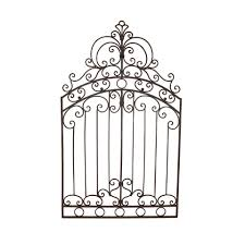 metal gate wall art details about tuscan wrought iron 50 garden gate wall grille grill on iron gate wall art with tuscan wrought iron 50 garden gate wall grille grill pinterest