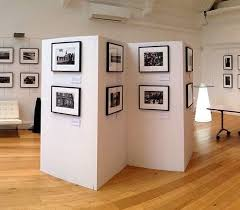 Art Exhibition Display Stands Art Display Stands Temporary Art Walls Display Boards 1