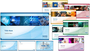 Company Presentation Template Ppt Ieee Corporate Presentation Templates Ieee Brand Experience
