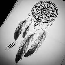 Back Of Neck More Tattoos Tetování Lapače Snů Tetování Mandaly