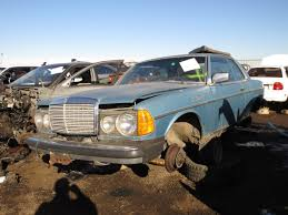 Junkyard Find: 1978 Mercedes-Benz 300CD - The Truth About Cars