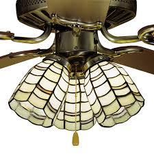 Tiffany Ceiling Fan Light Shades Meyda 27479 Tiffany Sea Scallop Fan Light Shade