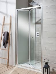 bifold shower door add