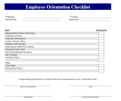 Onboarding Template Excel New Hire Training Checklist Barca Fontanacountryinn Com
