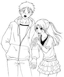 Girl And Boy Drawing At Getdrawings Com Free For Personal Use Girl