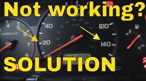 Honda Illumination Not Working How To Fix Instrument Cluster Lights