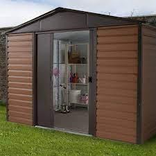 10x6 metal garden sheds yardmaster shed