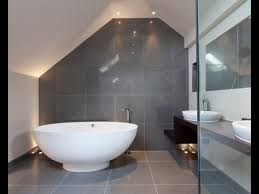 White bathroom tiles Farmhouse Grey And White Bathroom Tile Ideas Youtube Grey And White Bathroom Tile Ideas Youtube