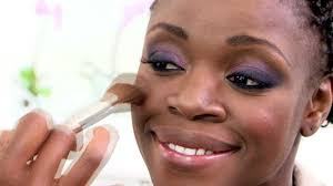 dark skin makeup tutorial pt2 deep brown corrector foundation you