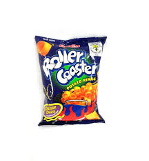 j and j snack food j j roller coaster snack cheddar cheese 85g