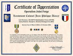 Military Certificate Templates military certificate of appreciation template military certificate 16