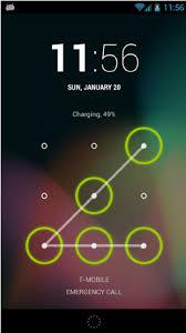 Unlock Pattern Fascinating E An Example Of Unlock Pattern Download Scientific Diagram
