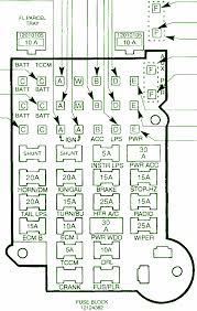 gmc fuse panel diagram gmc download wiring diagram car Gmc Fuse Box Diagrams 1993 chevy s10 fuse box diagram gmc acadia fuse box diagram
