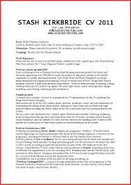 Resume Attributes Examples Business Free Power Of Attorney