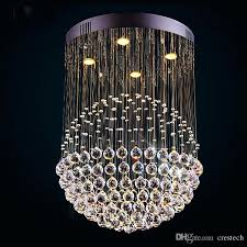chandeliers ball crystal chandelier new modern led chandeliers glass light lights clear