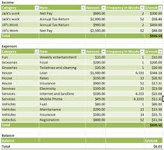 simple annual budget template simple budget template free download and software reviews cnet