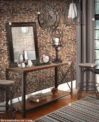 Rustic Industrial Christmas Decor : Cool ways to style your industrial home  decor