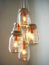 ball jar lighting. Ball Jar Light How To Build Mason Chandelier Lanterns String Lights . Lighting