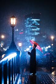 wallpaper for iphone lock screen.  For Woman Using Umbrella Standing Near Bridge Light Post For Wallpaper Iphone Lock Screen T