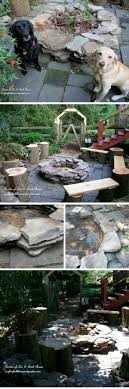 Stacked Stone Fire Pit 15 awesome diy fire pit ideas for your best bbq 4609 by xevi.us