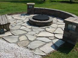 flagstone patio with fire pit. Interior:Backyard Flagstone Patio Ideas Small Yard Designs Fire Pit Patios With Patterns Outdoor Grill E