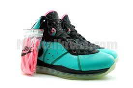 lebron 8 south beach. condition: brand new with original box, extra laces. lebron 8 south beach s