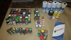 Railmatch Paints Colour Chart Humbrol Enamel Paint Plus Others Railmatch Aerosols Lots Of