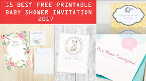 Do It Yourself Baby Shower Invitation Templates 15 Best Free Printable Baby Shower Invitation Templates 2017