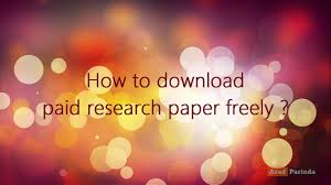 Research Paper Pdf  Mla Style Research Paper Template Pdf     YouTube
