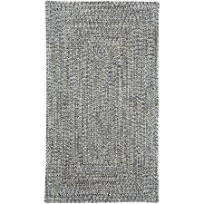 small smokey quartz gray braided indoor outdoor rug sea glass rc willey furniture
