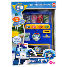 Vending Machine Toy Magnificent Poli Talking Vending Machine Toy Korean Character Baby Kids Gift