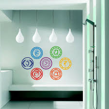 wall decals stickers 7 chakra mandala