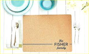 best placemats for round table best for round table personalized cork set of 2 table mats best placemats for round table