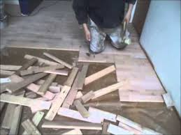 how to remove hardwood floors easy instructions