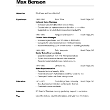 Free Fill In Resumes Printable Free Printable Fill In The Blank Resume Templates Fred Resumes 73