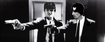 Badger and Skinny Pete as Pulp Fiction - PandaWhale via Relatably.com